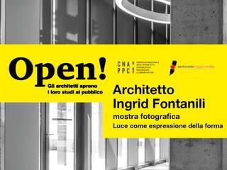 Open! studi aperti: Studio in stile in stile Eclettico di ARCHITETTO Ingrid Fontanili