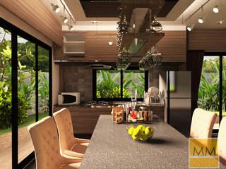 งาน renovate ห้องครัว: ทันสมัย  โดย MM design & development, โมเดิร์น