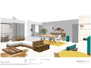 Modern Living Room by soulplace Modern