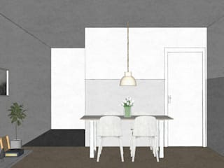 Dining room:   door MEL design_