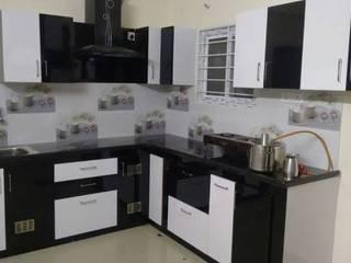Modular Kitchen Modern kitchen by Eight Streaks Interiors Modern
