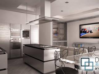 Openspace Cucina moderna di DM2L Moderno