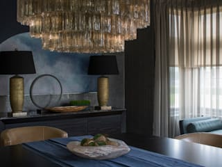 Broad Walk: Winchmore Hill Modern dining room by Roselind Wilson Design Modern