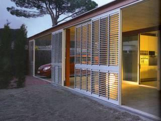 Lacasadevidrio Casas de estilo moderno de Arquitecto ViviendasAutor Moderno