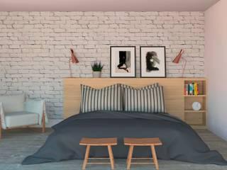 Patrícia Nobre - Arquitetura de Interiores ห้องนอน