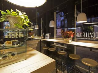El Callejón Café Comedores modernos de Boué Arquitectos Moderno