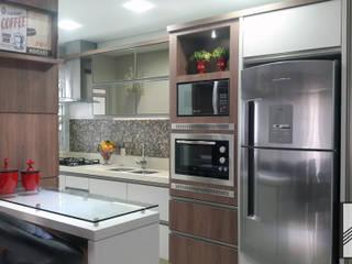 Cocinas de estilo  por Abitarte - Arquitetura e Interiores