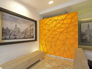 ห้องโถงทางเดินและบันไดสมัยใหม่ โดย Boué Arquitectos โมเดิร์น