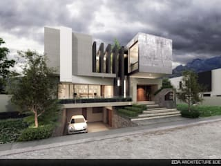 Casa en Casa Fuerte : Casas de estilo  por EBA Architecture & Desing