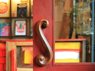 Sugatakatachi Door Handle DH-S-UZUMAKI すがたかたち Windows & doorsDoorknobs & accessories Wood