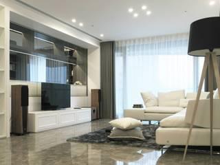 構築設計 Livings de estilo clásico