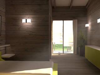Image 3D de la chambre.: Chambre de style de style Classique par lateralis