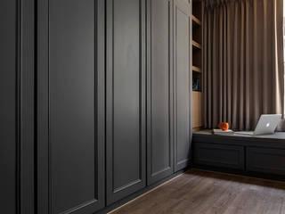Schlafzimmer von 齊家。空間設計, Modern