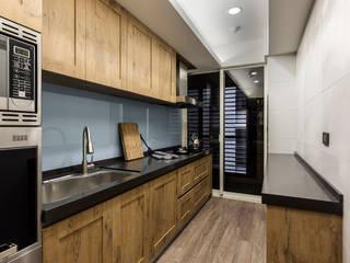 齊家。空間設計 Dapur Modern