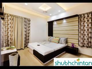 2bhk flat :  Bedroom by shubhchintan