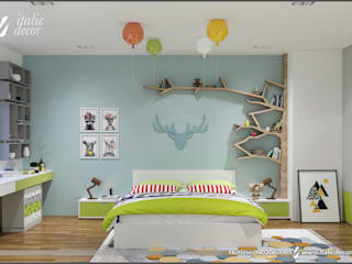 modern Nursery/kid's room by ITALIC DECOR