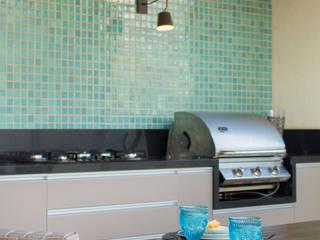 Espaço Gourmet - Cobertura: Terraços  por Gislane Lima - Interior Design