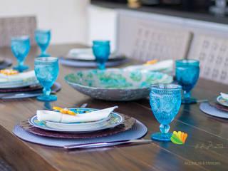Espaço Gourmet - S & L - Alto Barroca: Terraços  por Gislane Lima - Interior Design