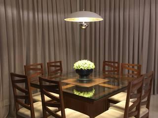 Living e circulação: Salas de jantar  por Evelyn Silvestre Arquitetura e Urbanismo,Moderno