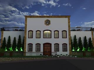 Apart Hotel & Senior Residence em Tiradentes, MG:   por Paulo Augusto Arquitetura