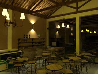 Interior do Café Quitanda em Elvas, Tiradens, MG.:   por Paulo Augusto Arquitetura