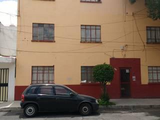 Fachada del edificio:  de estilo  por ALFIN EN MÉXICO
