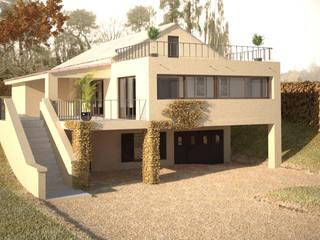 Extension en 3D: Maisons de style de style Classique par lateralis