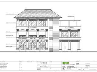 Thiết kế nội thất quán cafe phong cách tân cổ điển: cổ điển  by Công ty TNHH Thiết kế và Ứng dụng QBEST, Kinh điển