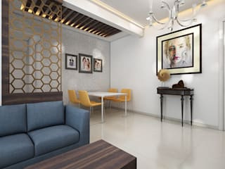 Dining room by The inside stories - by Minal, Minimalist