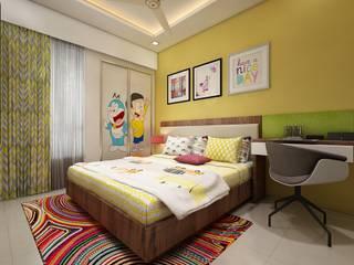 Nursery/kid's room by The inside stories - by Minal, Minimalist