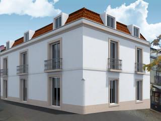 Casas do Adro - Reabilitação:   por atelier.dxf,Moderno