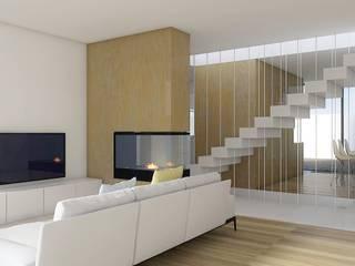 Sala de Estar: Salas de estar minimalistas por Enponto