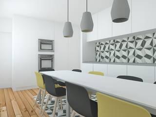 Cozinha: Cozinhas escandinavas por Enponto