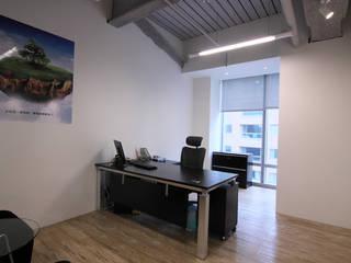 副總經理辦公室:  辦公室&店面 by Hi+Design/Interior.Architecture. 寰邑空間設計