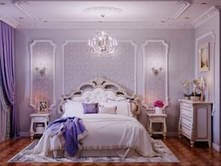 Classic style bedroom by Студия дизайна Interior Design IDEAS Classic