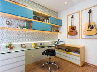 Apartamento Bairro Prado - BH/MG Escritórios modernos por Mímesis Arquitetura e Interiores Moderno