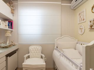 Quarto do Bebê - Bairro Santa Tereza/BH Quarto infantil clássico por Mímesis Arquitetura e Interiores Clássico