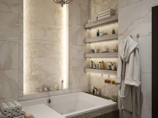 WORKS II Ванная комната в эклектичном стиле от Юлия Максимук Эклектичный