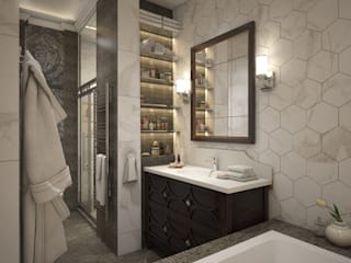 Eclectic style bathroom by Юлия Максимук Eclectic