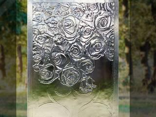 Witraże do drzwi. Fusing. od W.Glass Studio Klasyczny