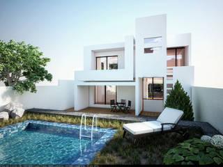 3h arquitectos Modern houses