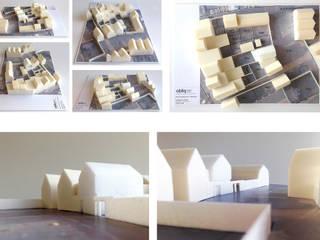 bouw woning Utrecht: modern  door Obliq Architectuur, Modern