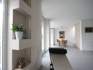 verbouwing en uitbreiding woning Ouderkerk: modern  door Obliq Architectuur, Modern