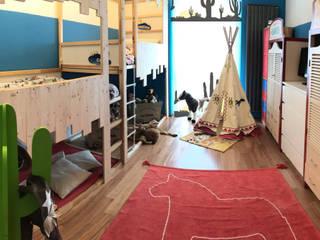 Far Far West: Stanza dei bambini in stile  di BF Homestyle