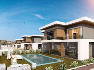 Houses by VERO CONCEPT MİMARLIK, Modern