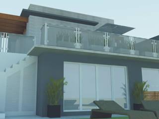 Casas de estilo  de daniel villela arquitetura, Moderno