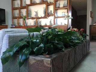 Casa Refugio Salones modernos de DODA Arquitectura + Diseño Moderno