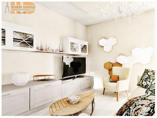 Soggiorno Vivian: Soggiorno in stile in stile Classico di House Design Arredamenti