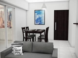 Dining room by JACH, Modern