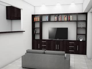 Living room by JACH, Modern